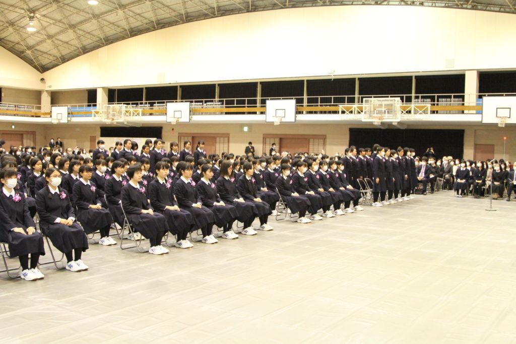 純心女子高等学校 第70回卒業証書授与式\ title=
